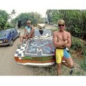 Surfing photographs from the 80's taken by Jeff Divine