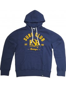 ESB SWEAT KID SURF CLUB bleu et jaune