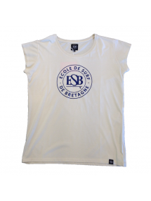 ESB WOMAN TEE SURF CLUB
