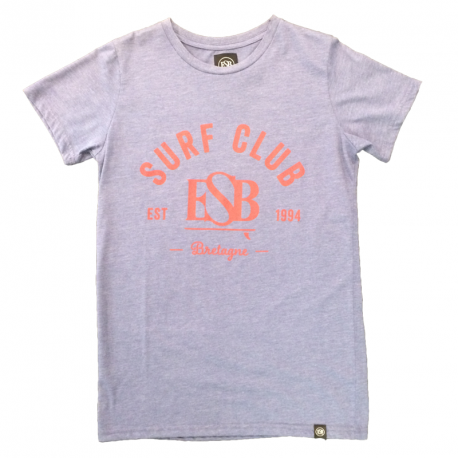 ESB TEE MAN SURF CLUB Bleu et jaune