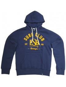 ESB SWEAT MAN SURF CLUB bleu et jaune