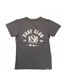 ESB TEE KID  SURF CLUB BLEU/BLANC