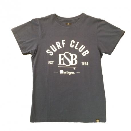 ESB TEE KID  SURF CLUB BLEU/BLANC