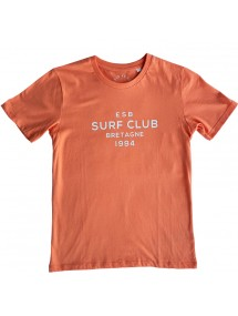 ESB TEE KID  SURF CLUB bleu et jaune