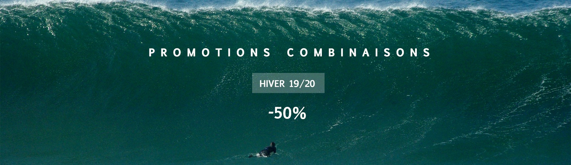 Promotions wetsuits 19/20